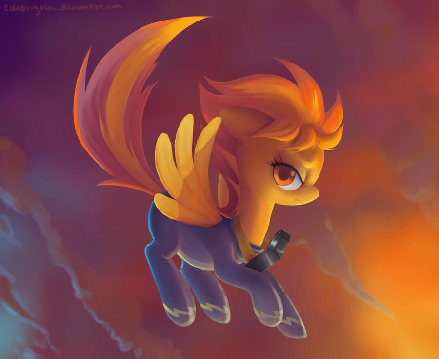 Spitfire poneee by Celebi-Yoshi