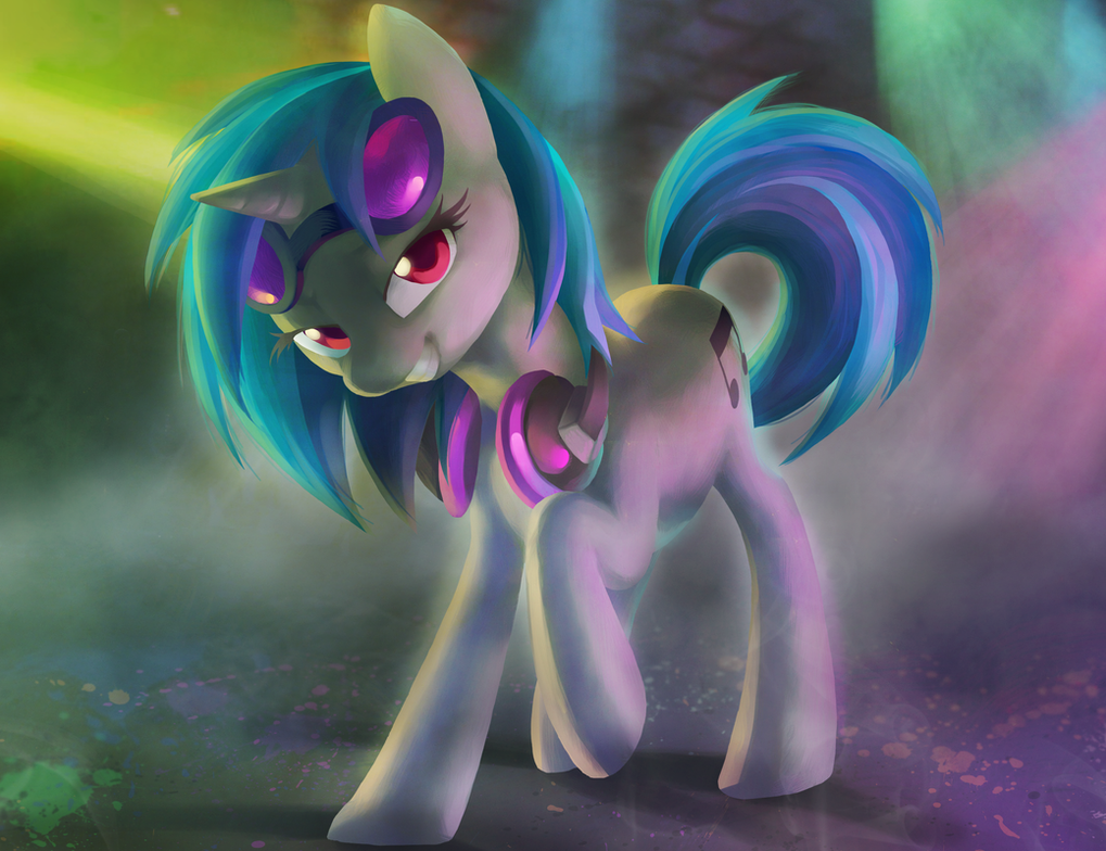 Vinyl Scratch By Celebi Yoshi On Deviantart