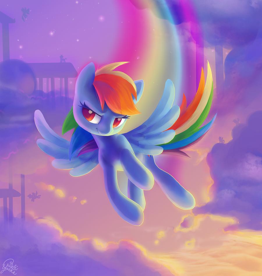 Rainbow Dash by Celebi-Yoshi