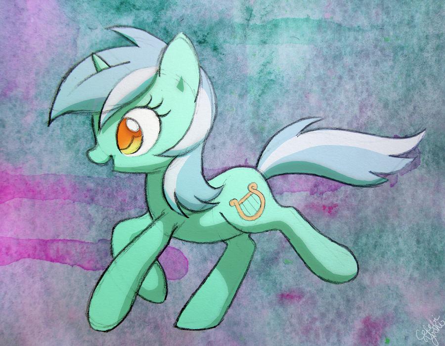 Lyra prance by Celebi-Yoshi