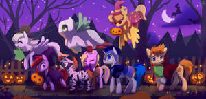 Happy (pony) Halloween!