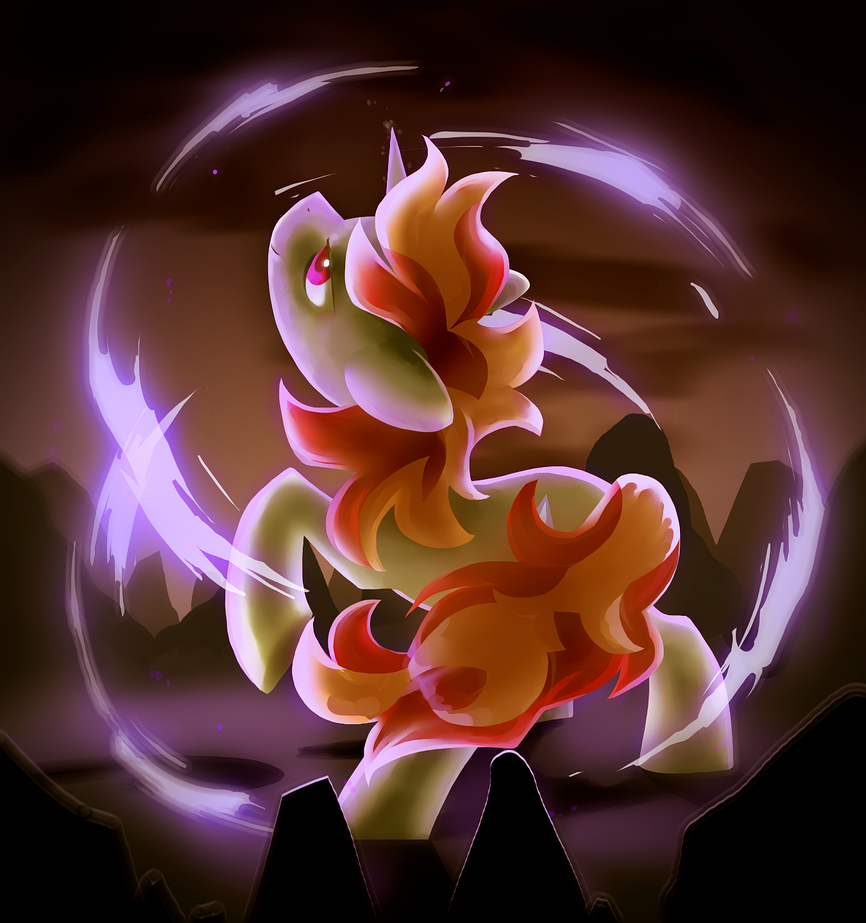 Commish: Din's Fire by Celebi-Yoshi