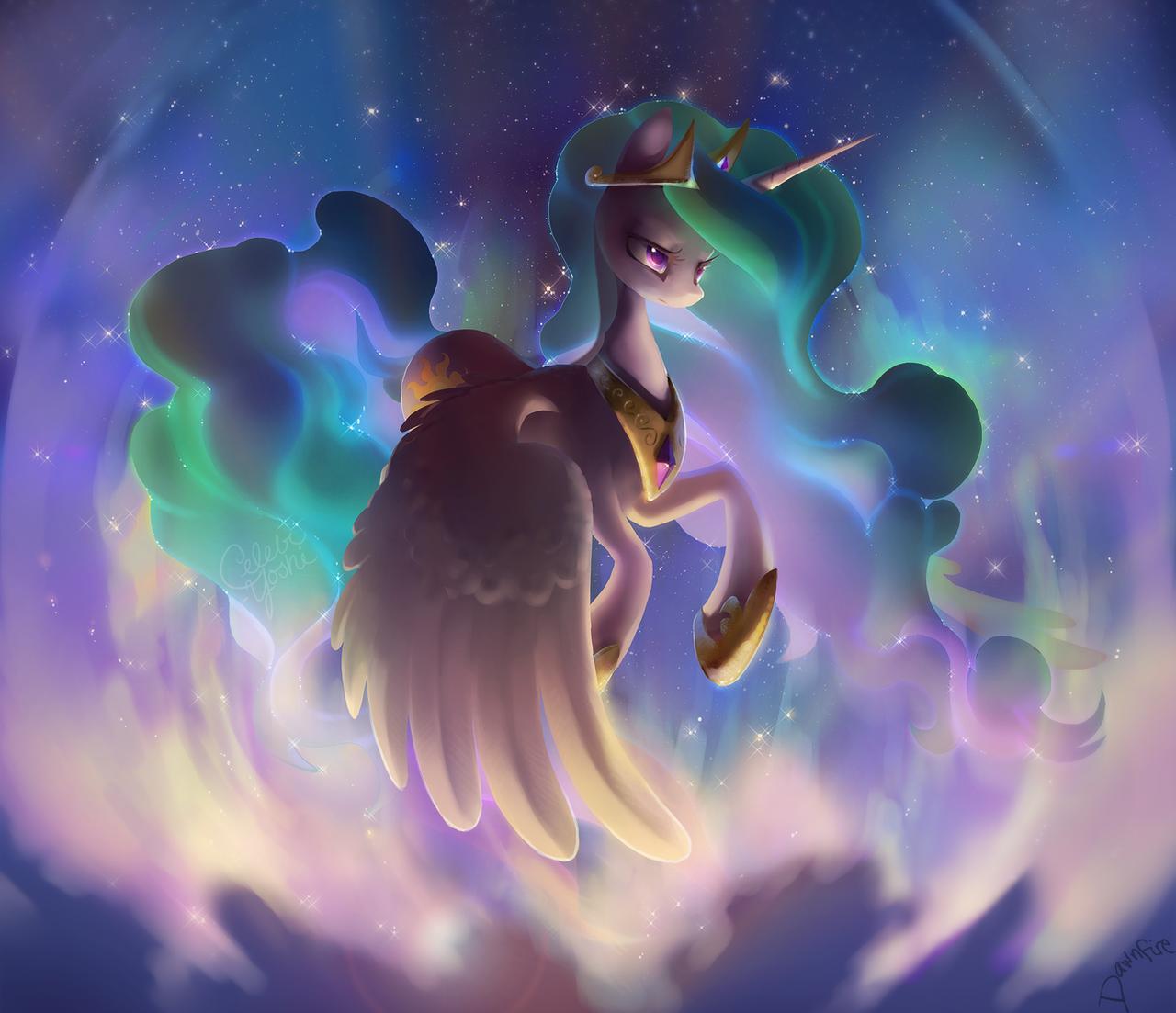 Princess Celestia by Celebi-Yoshi