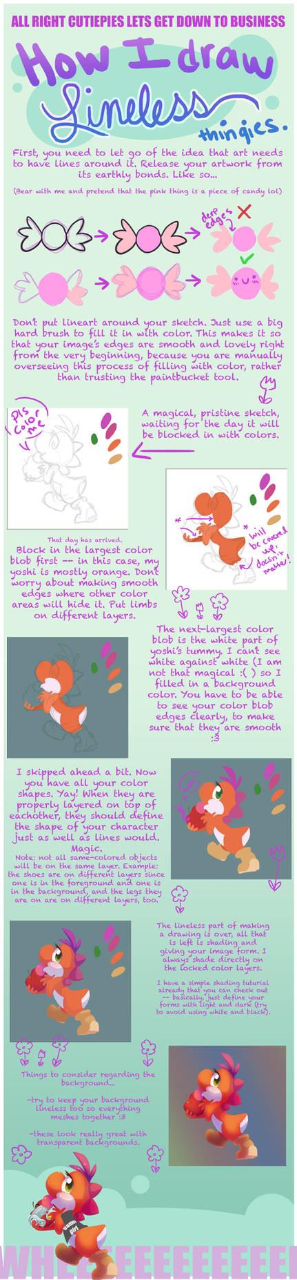 Tutorial: how I draw lineless