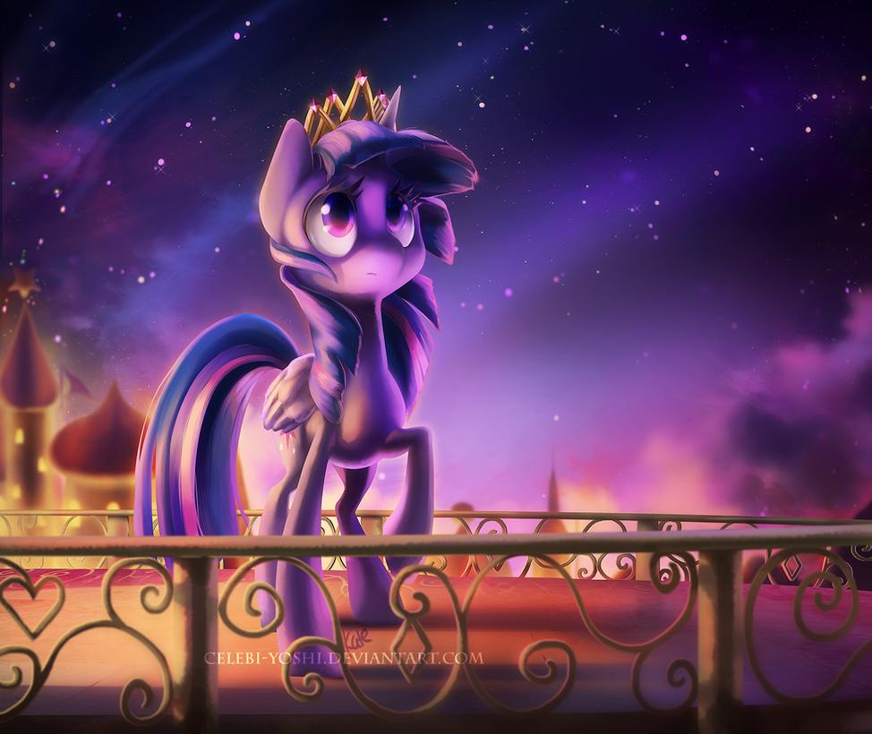 Princess Twilight by Celebi-Yoshi