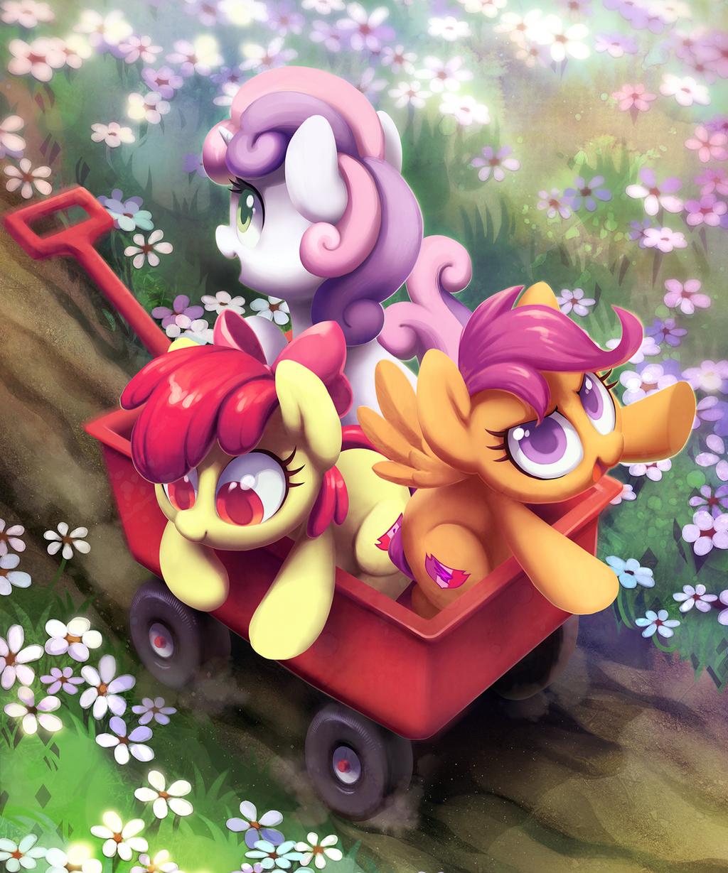 彩虹小马 my little pony