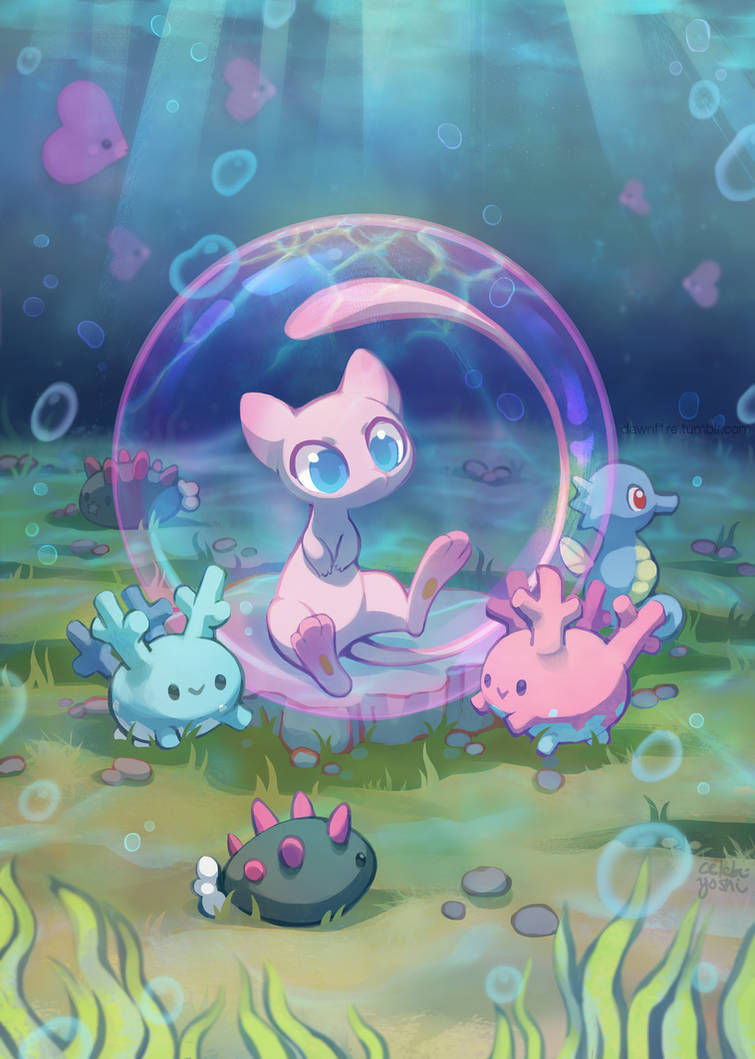 Undersea Pokebuddies by Celebi-Yoshi