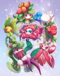 Grass Poke Squad by Dawnf1re