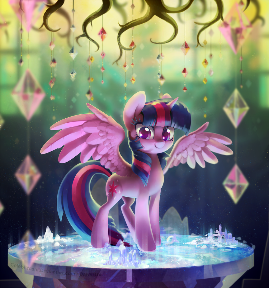 Twilight's Castle by Celebi-Yoshi