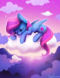 Blueberry nap by Celebi-Yoshi