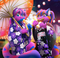 Kimono Kitties