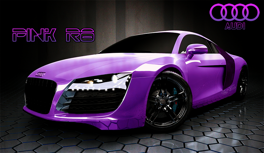 Audi A8 Pink By Absolutehack On Deviantart