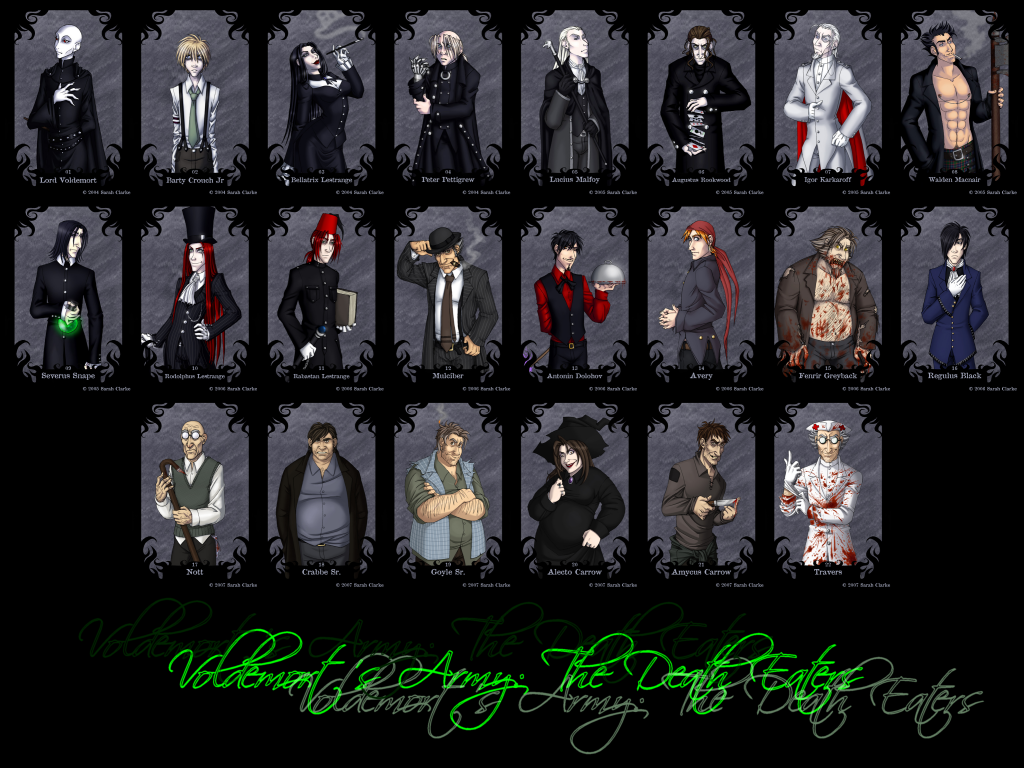 Death Eaters Wallpaper by hepcatjester