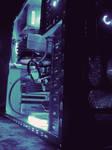 Blue Lights of my PC