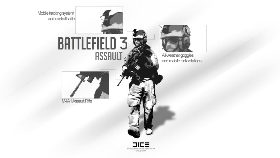 Battlefield 3 Assault Soldier