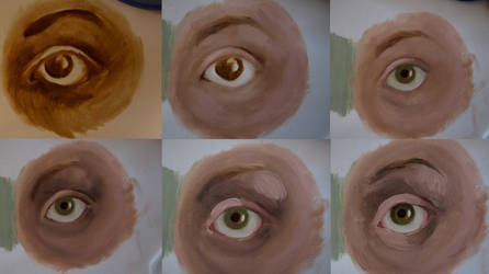 Eye, step-by-step by Dorran92