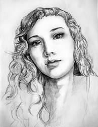 Self-portrait by Dorran92