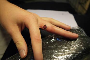 Ladybug tattoo by Dorran92