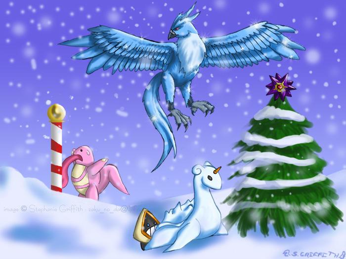 Winter pokemon by aoibara on deviantart