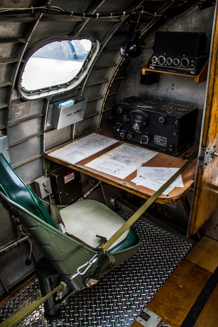Good B 17 U0027Sentimental Journeyu0027 Interior By ...