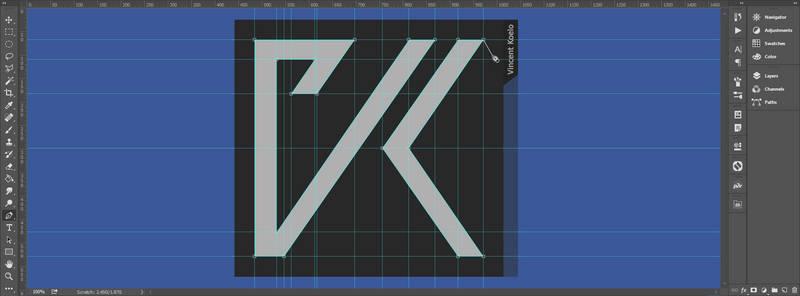 Vincent Koelo new logo