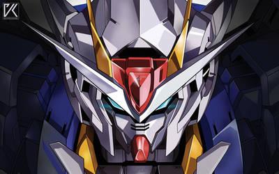 Gundam GN-0000 00 by koelo