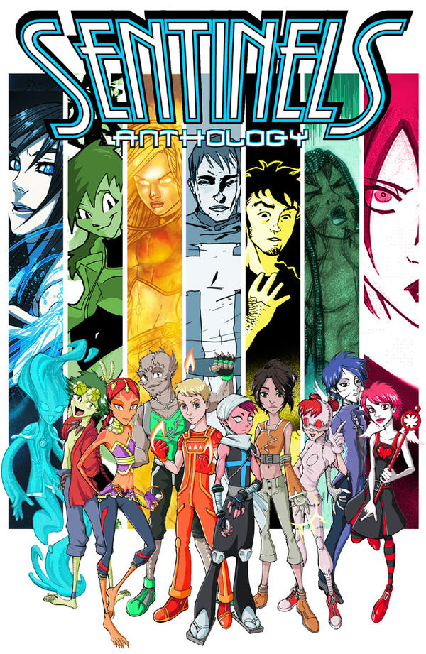 Sentinels Anthology Cover