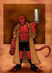Hellboy Colored Version