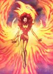 Dark Phoenix Colored Version