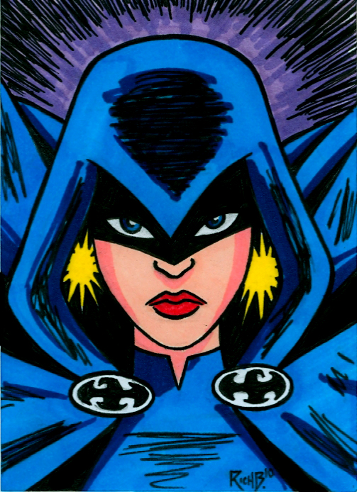 Sketchcard Raven by RichBernatovech