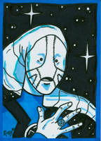 Sketchcard Saint Walker by RichBernatovech