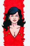 Wondergirl Headshot Colored