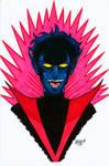 Nightcrawler Headshot Colored