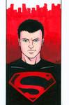 Superboy Headshot Colored