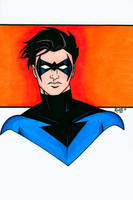 Nightwing Headshot 2 by RichBernatovech