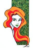 Poison Ivy 2 Headshot by RichBernatovech