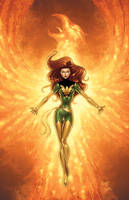 Phoenix Colored by RichBernatovech