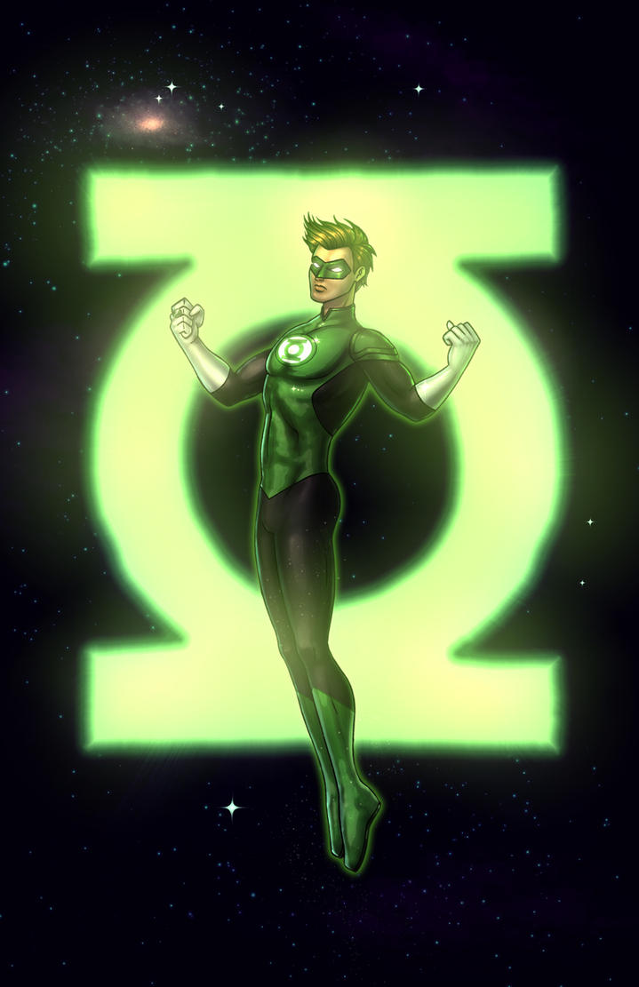 Green Lantern Colored by RichBernatovech