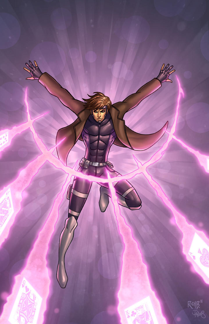Gambit Colored by RichBernatovech