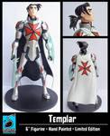 Templar Statue Final Version by RichBernatovech