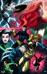 X-Men Colored!