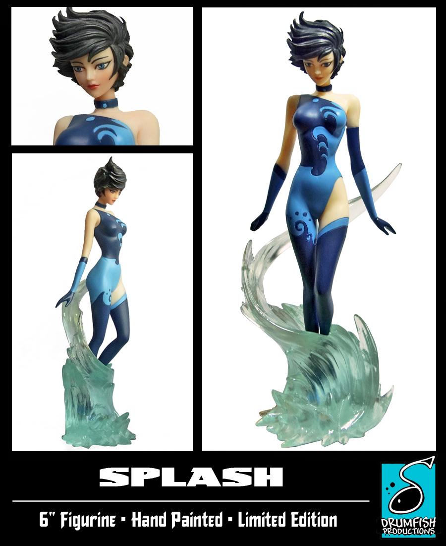 Splash Statue Final Version by RichBernatovech