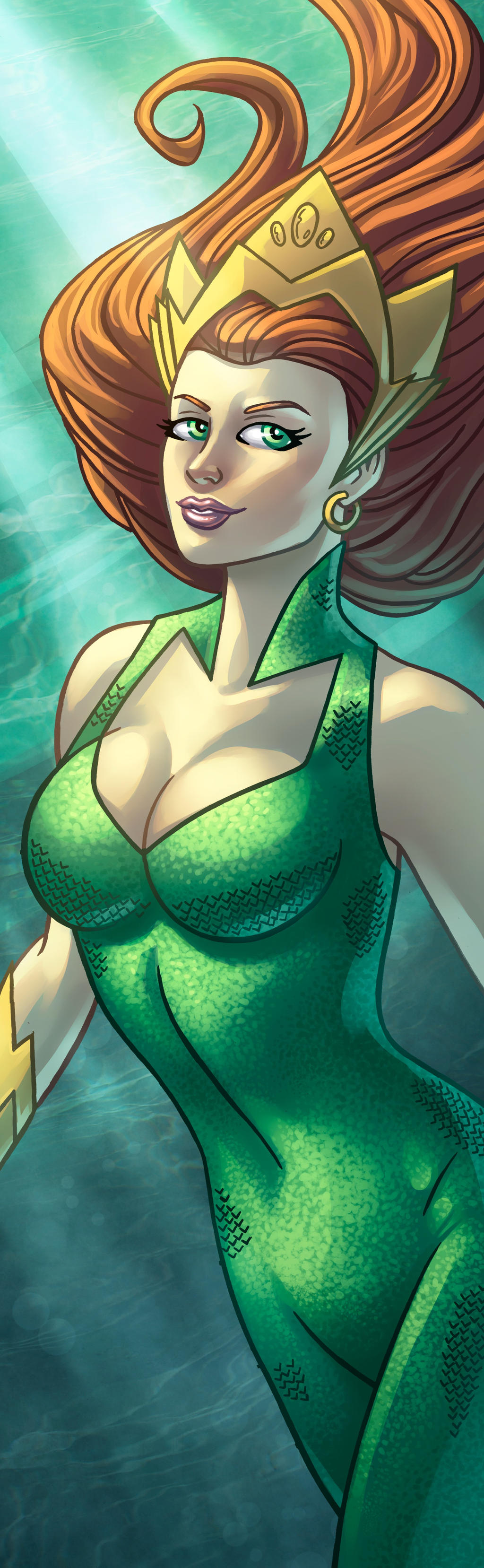 Mera Panel Art by RichBernatovech