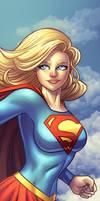Supergirl Panel Art