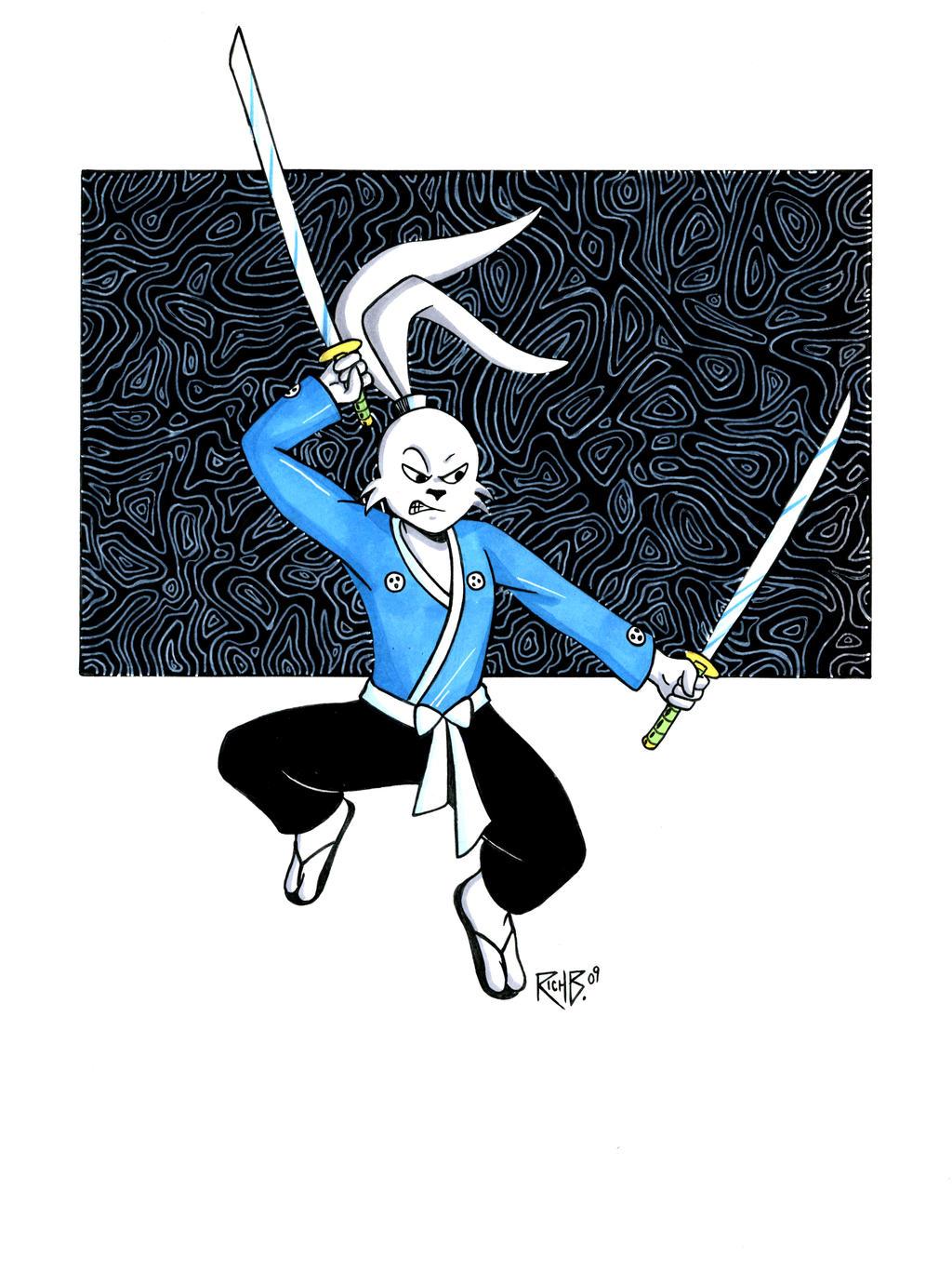 Usagi Yojimbo Auction Donation by RichBernatovech