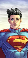 Superman Panel Art