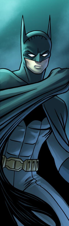 Batman Panel Art by RichBernatovech
