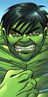 Hulk Panel Art