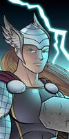 Thor Panel Art by RichBernatovech