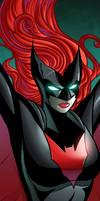 Batwoman Panel Art